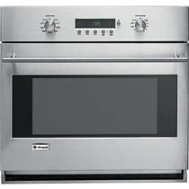 GE Monogram 30 Inch 4.4 cu. ft Glide Racks Single Electric Wall Oven ZET1SMSS