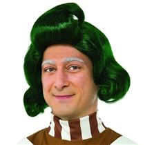 Willy Wonka and the Chocolate Factory Green Oompa Loompa Wig