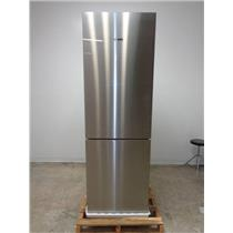 "Bosch 800 24"" 10.0 cu.ft. Counter-Depth Refrigerator Stainless/Glass B10CB80NVS"