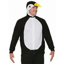 Penguin Hoodie Jacket Unisex Adult Size Costume