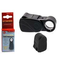 "10 x 3/4"" Sliding Magnifier, Acrylic Lens (Black), Home,Office,Hobby"