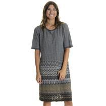 NWT L Authentic Pendleton Mission Stripe Camel Heather/Grey Heather Multi Dress