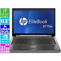 "HP EliteBook 8770w, i7 2.6GHz 17.3"" Laptop"