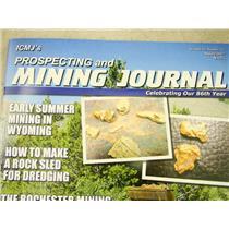 ICMJ's Prospecting & Mining Journal Magazine August 2017, GOLD!!! DIY Rock Sled