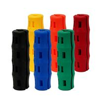 Snappy Grip Bucket Handle Replacement Grip, Ergonomic 6-Pack of assorted colors