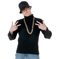 Adult 1980s Old School Rapper Halloween Costume Accessory Kit Run DMC Hip Hop