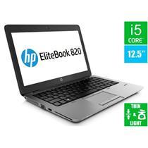 "HP EliteBook 820 G1, i5 1.9GHz 12.5"" Laptop"