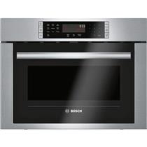 """Bosch 500 24"""" 1.6 cu. ft. 1000 Watts Stainless Speed Convection Oven HMC54151UC"""