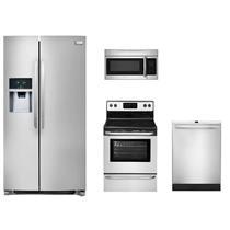 NIB Frigidaire Full Kitchen: FFHS2322MS, FFMV164LS, FFEF3024RS and FFID2421QS