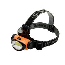 200 Lumen Super Bright / 3 Watt Energy Efficient COB LED Headlamp (orange)
