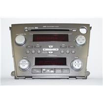 2007-2009 Subaru Legacy Radio Controls Faceplate Panel ONLY w/ Auto Climate