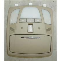 2010-2014 Suzuki Kizashi Overhead Console with Map Lights, MIC Sunroof Switch