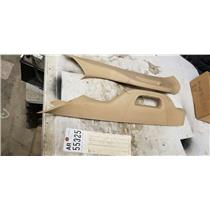 2011-2013 Ford F350 F450 F550 King Ranch windshield pillar mouldings tag ar55325