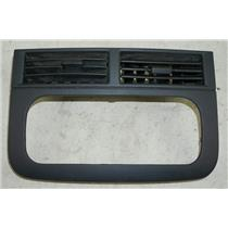 1999-2004 Jeep Grand Cherokee Radio Dash Trim Bezel Black Trim w/ Black Vents