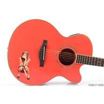 "Yamaha LJX6C Custom ""Fergie"" Acoustic Electric Guitar Black Eyed Peas #31298"