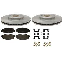 Toyota Corolla brake rotor kit also fit Scion XD 2008-2015 Front w/ ceramic pad