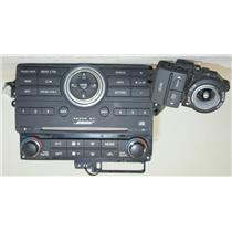 2008-2015 Nissan Armada BOSE Radio Controls Panel Cover w/ Auto Climate