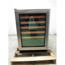 U-Line Wine Captain 1000 Series 24 Inch Black Built-In Wine Storage U1224WCS00B