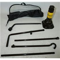 2003-2009 Toyota 4Runner Jack Assembly w/ Lug Wrench, Rods & Tool Bag Case