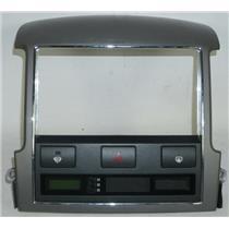 2007-2009 Kia Sorento Radio Dash Trim Bezel w/ Clock & Hazard Switch