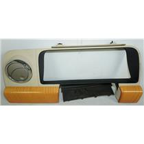 06 Lincoln Zephyr 06-09 MKZ Speedometer Cluster Dash Bezel Vent Maple Woodgrain