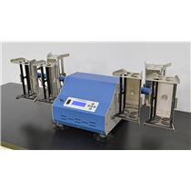 Used: Eberbach Model EL680 HD Heavy Duty Hand Motion Shaker w/ 6 Holders Sample Prep