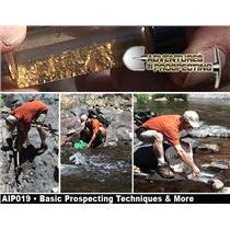 BASIC GOLD PROSPECTING TECHNIQUES & MORE DVD- Mining GREAT INFO - Chris Ralph