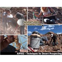 Techniques for Desert Gold Prospecting & Mining DVD