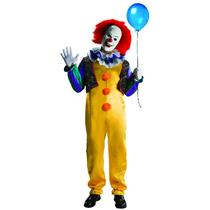 IT the Movie: Deluxe Pennywise Adult Costume with Mask XL