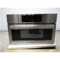 """Bosch 30"""" 1.6 Cu. Ft.10 Levels 2-in-1 microwave Stainless Speed Oven HMC80251UC"""