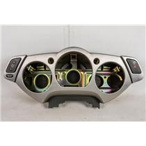 03-07 Nissan Murano Speedometer Cluster Dash Bezel Plate w/ Rear Cover Dimmer