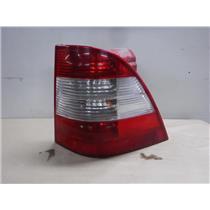 1998 - 2005 MERCEDES ML320 REAR PASSENGER TAIL LIGHT BACK UP LAMP - OEM
