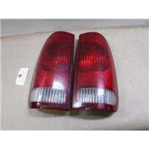 1999 - 2007 FORD F250 F350 TAIL LIGHTS ( RIGHT / LEFT ) NICE SHAPE ( OEM )