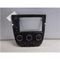 2001 - 2002 MERCEDES ML320 CLIMATE CONTROL WITH SWITCHES - WOOD BEZEL - OEM