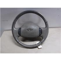 2003 - 07 FORD F250 F350 TAN STEERING WHEEL FOR PARTS - AIRBAG ( OEM )