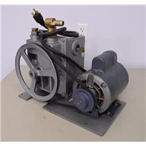 Welch Duo Seal Vacuum Pump w/ GE ¾ HP Motor 1402 for Sorvall Ultra Pro 80