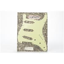 Allparts PG-0554-024 Mint Green & Pearloid Pickguard Strat 11 Hole 3-Ply #32459