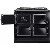 AGA Total Control 39 Inch BLK Boiler Hot Plate Cast-Iron Electric Range ATC3BLK