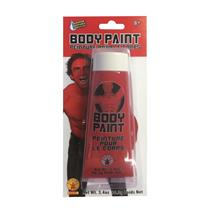 Red Rubie's 3.4oz Tube Makeup Body Paint
