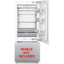 """Thermador 30"""" 16 cu.ft Built-in LED Flush Lights Refrigerator T30IB800SP P Ready"""