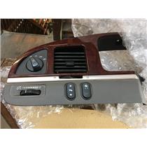 2003-2011 Lincoln Town Car Left Side Dash Trim Bezel for Pedal Adjust Switch