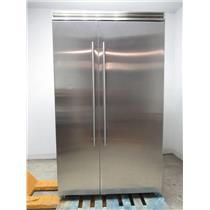 Marvel Professional Series 48 Inch Built-In Side-by-Side Refrigerator MP48SS2NS