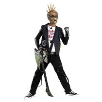 Rot N' Rebels: Punk Creep Skeleton Rocker Child Costume Medium 7-8
