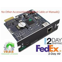 APC AP9630 NMC Smart-UPS Network Management Card 2 Firmware V6.7.2 Serial Cable