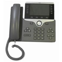 Cisco CP-8861-K9 5 Programmable Line Key 5 inch. Color VoIP Phone Aux USB