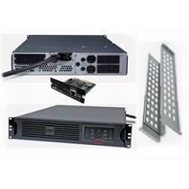APC SUA2200R2X180 (SUA2200RM2U) RACKMOUNT SMART-UPS 2200VA 1980W 120V USB AP9617