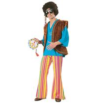 70's Hippie John Woodstock Adult Costume STD