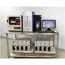 Used: Affymetrix GeneChip 3000 Microarray Scanner Autoloader Oven 640 Fluidics 450