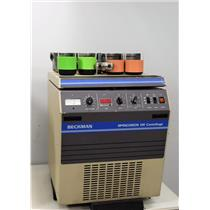 Beckman Spinchron KR Refrigerated Benchtop Centrifuge w/ GH 3.7 Rotor & Inserts