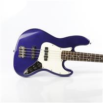 Fender Jazz Bass MIM Purple w/ Gig Bag Signed Bruce Kulick Kiss #34451